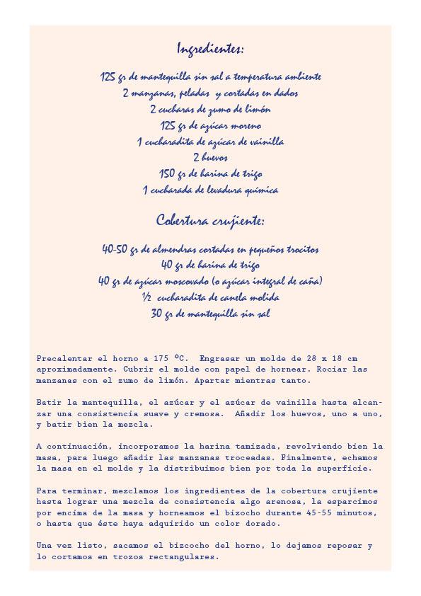 Receta Pasteles De Manzana