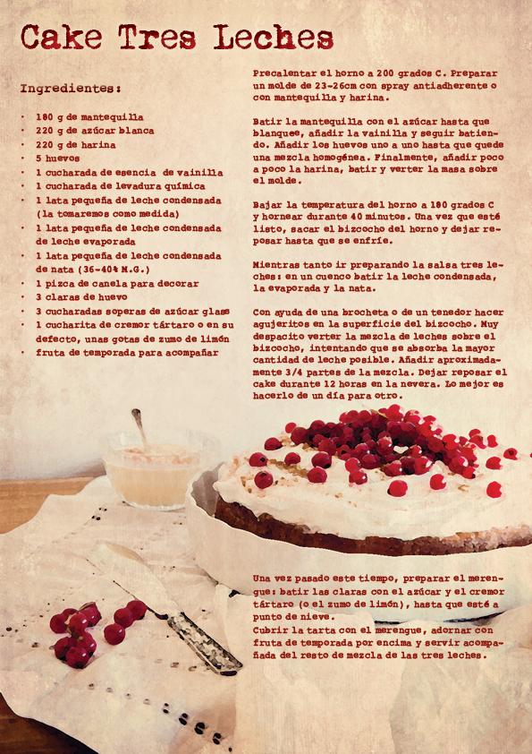 Cake tres leches