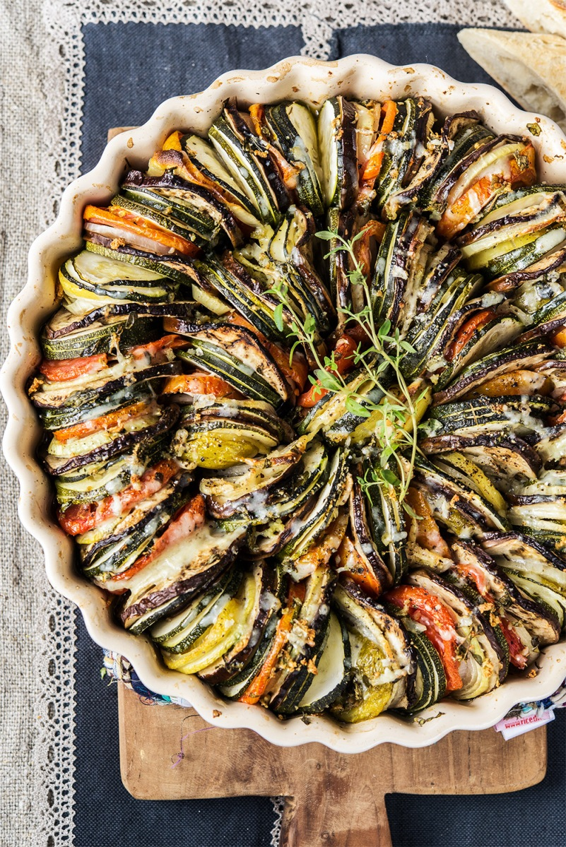 Tian provenzal de verduras la reina de todas las flores for Verduras francesas